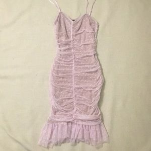 Dolls Kill pink dress, small